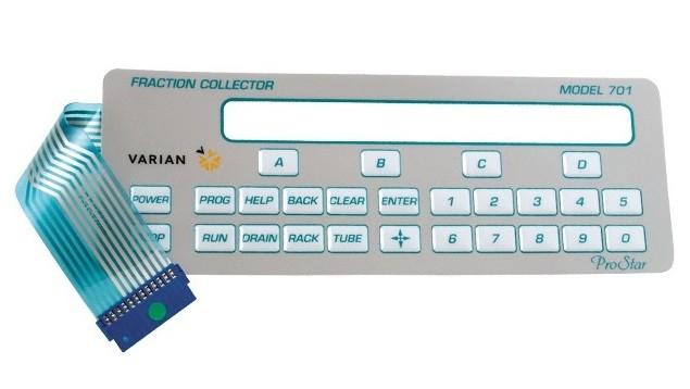 Membrane Keypad Input Controls