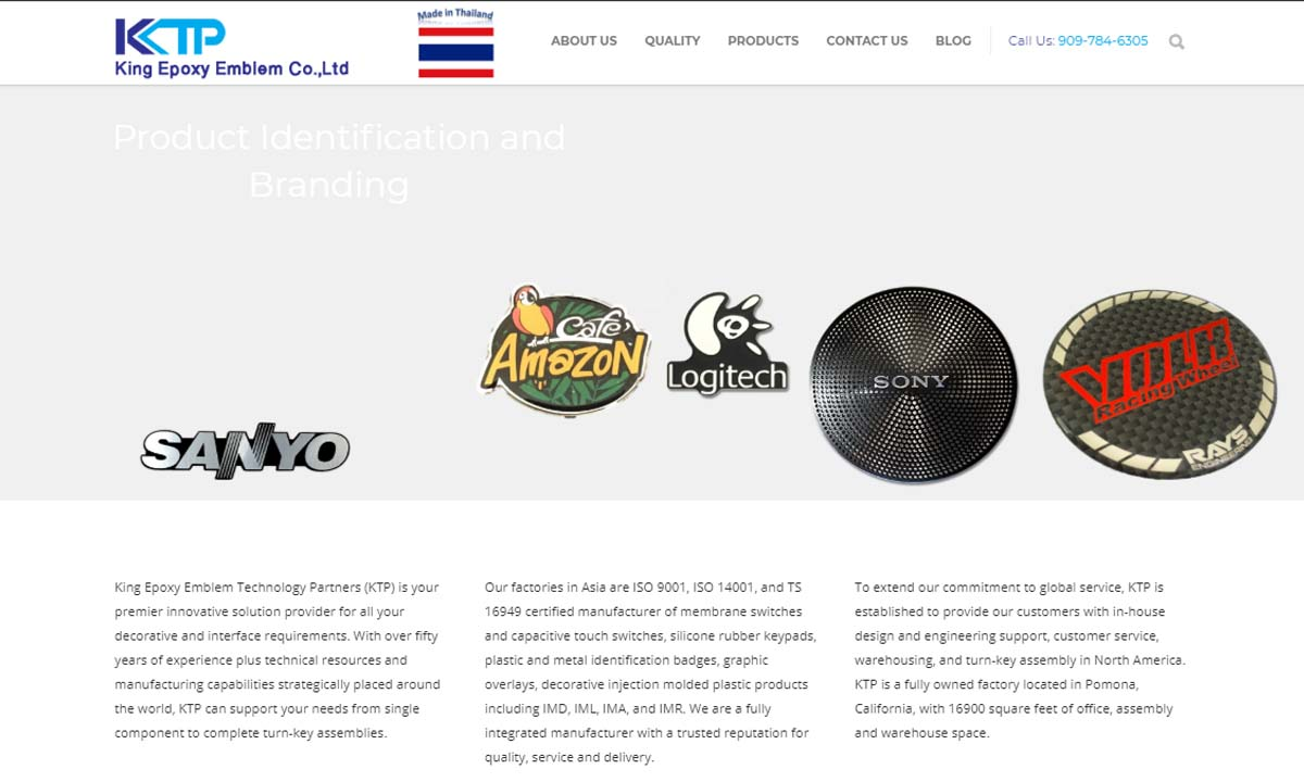 King Epoxy Technology Partners (KTP)