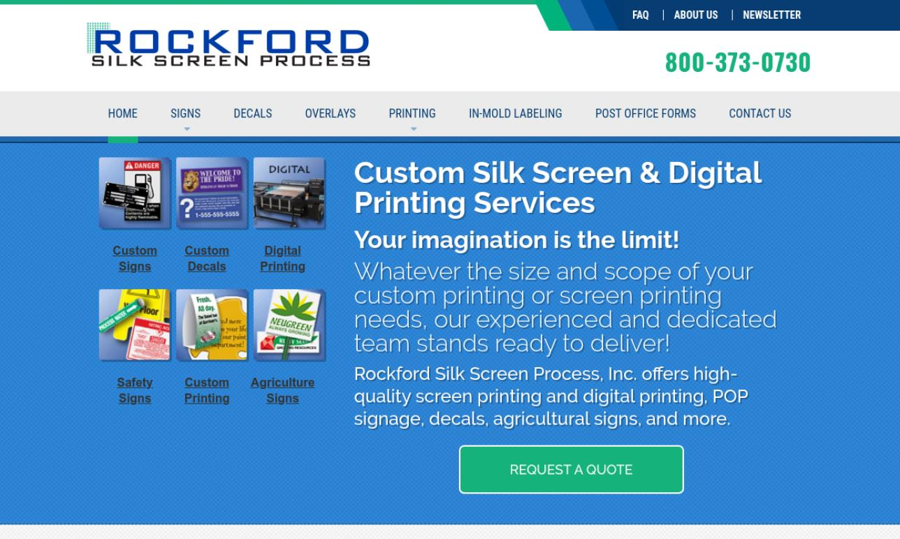 Rockford Silk Screen Process Inc.