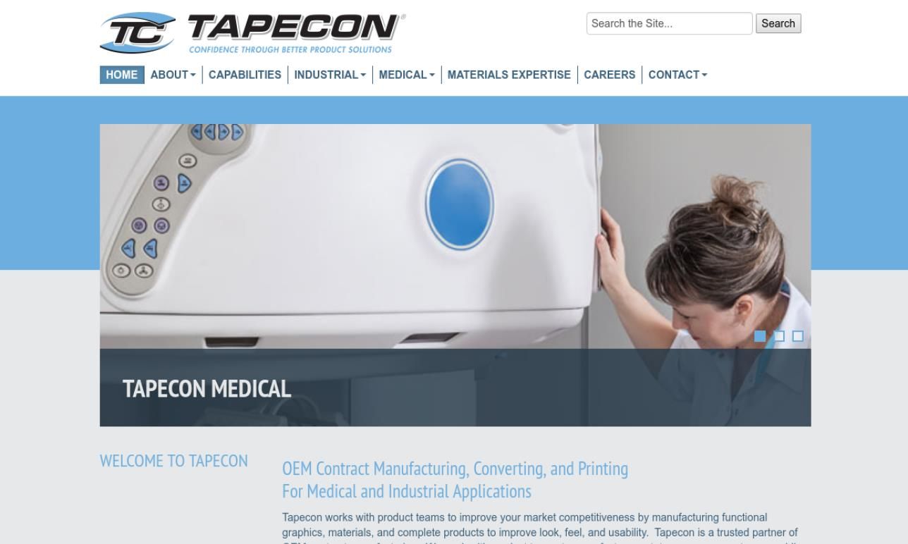 Tapecon®, Inc.